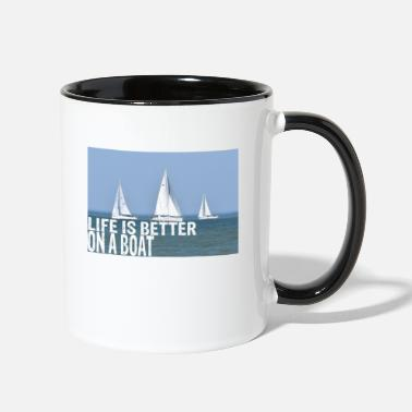 Skipper Skipper - Two-Tone Mug