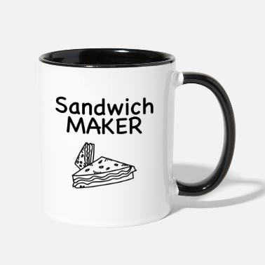 Sandwich Sandwich Maker, Love Sandwiches - Two-Tone Mug