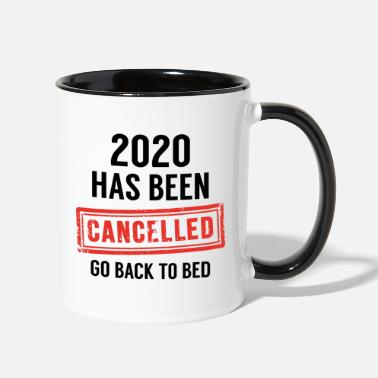 Stamp 2020 Has Been Cancelled - Two-Tone Mug
