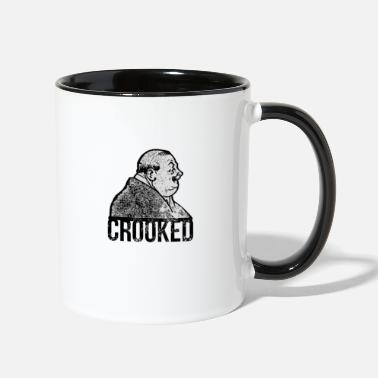 Crook Crooked - Two-Tone Mug