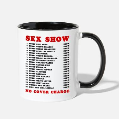 Hooker Bangkok Red Light Ping Pong Sex Show - Two-Tone Mug