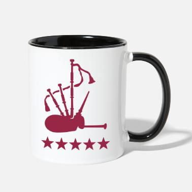 Instrument Bagpipe - Contrast Coffee Mug