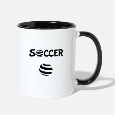 Soccer Game The Soccer game - Two-Tone Mug