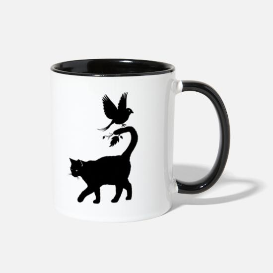 Love Mugs & Drinkware - Cuckoo where are you? - Two-Tone Mug white/black
