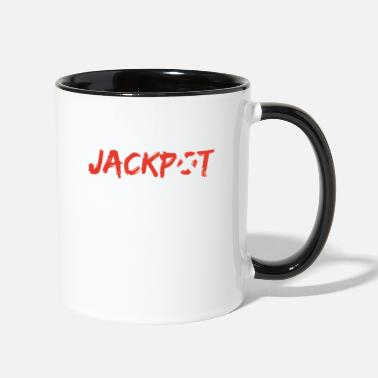 Lotto Jackpot Winning Numbers Lottery Bingo Gambler Gift - Contrast Coffee Mug