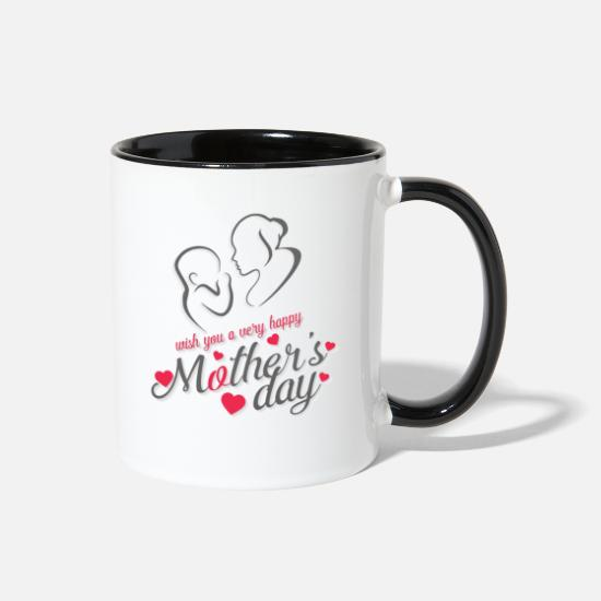 Mother's Day Mugs & Drinkware - mother day - Two-Tone Mug white/black