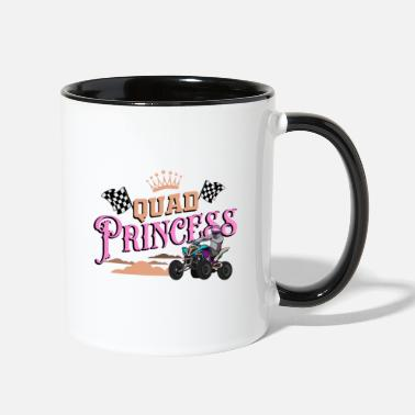 Quad Atv quad, quad quad dirt, quad atv - Two-Tone Mug