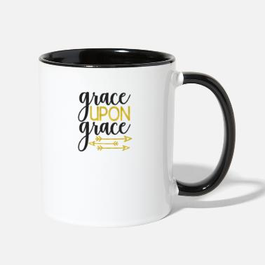 Bible Verse INSPIRATIONAL CHRISTIAN BIBLE VERSE design - - Two-Tone Mug