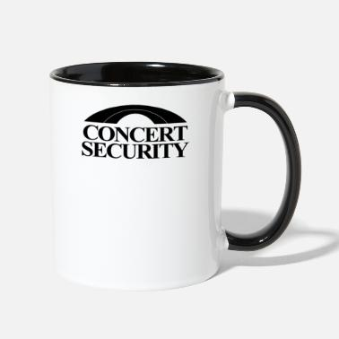Concert Concert Security - Two-Tone Mug