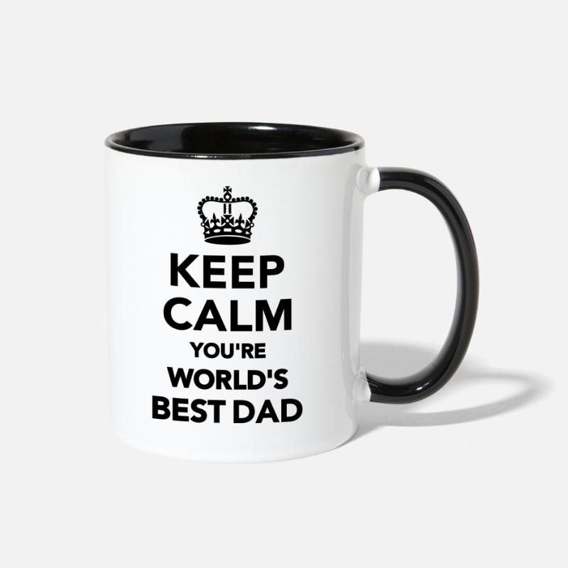 Best Mugs & Drinkware - Dad - Two-Tone Mug white/black