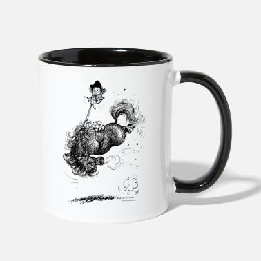 Norman Thelwell Thelwell Horse Rodeo - Two-Tone Mug