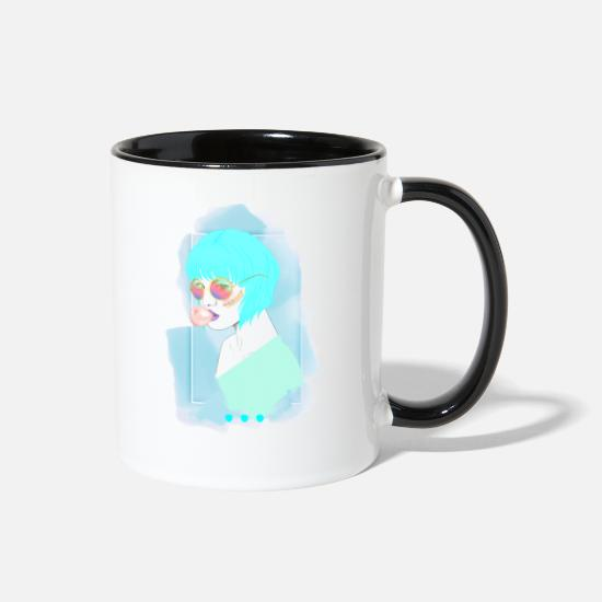 Gift Idea Mugs & Drinkware - Woman - Two-Tone Mug white/black