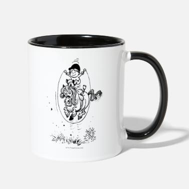 Norman Thelwell Thelwell Skipping Rope - Two-Tone Mug