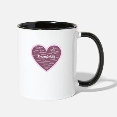 Breastfeeding Breastfeeding - Contrast Coffee Mug