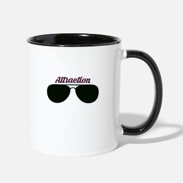 Attractive Sunglass Attraction - Contrast Coffee Mug