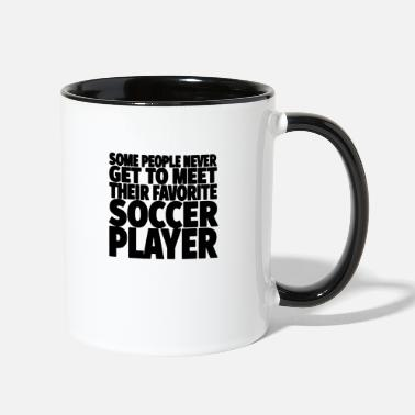 Soccer Soccer Player - Two-Tone Mug