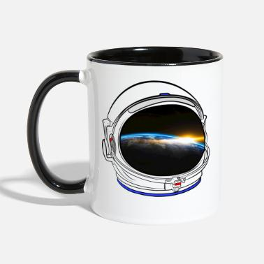 Space Helmet Space helmet - Two-Tone Mug
