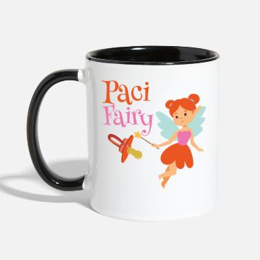 Binky Fairy Paci Fairy: Cute Pacifier Fairy Shirt for Girls - Two-Tone Mug