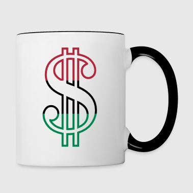 Dollar Sign - Contrast Coffee Mug