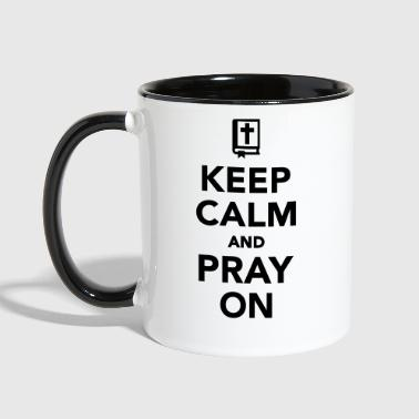Pray Pray - Contrast Coffee Mug