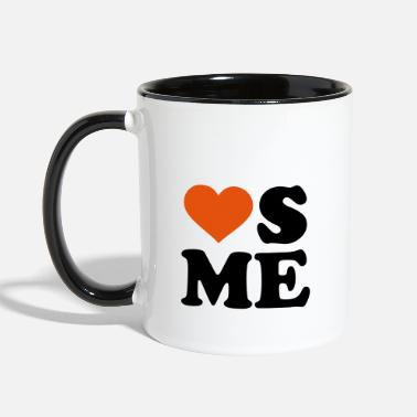 Love Me Loves me - Contrast Coffee Mug