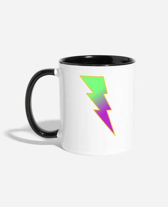 Electricity Mugs & Cups - Rayo - Two-Tone Mug white/black