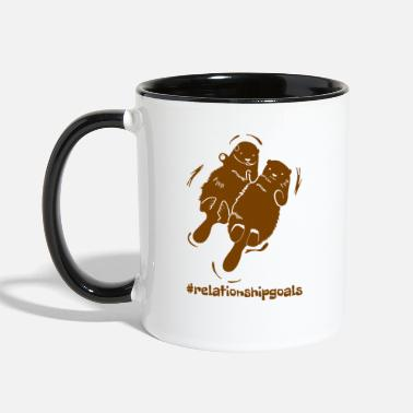 Relationship Goals | Beaver Love - Two-Tone Mug