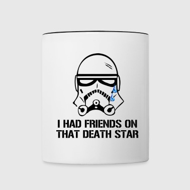 Death Star Friends - Contrast Coffee Mug