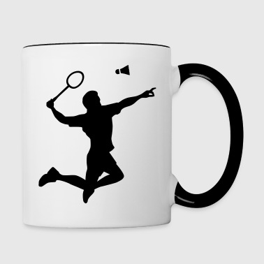 Badminton - Contrast Coffee Mug