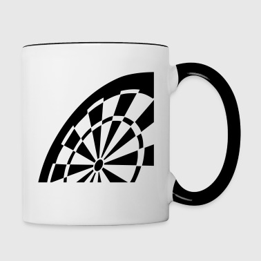 Darts - Contrast Coffee Mug