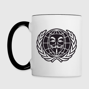 Anonymous - Contrast Coffee Mug