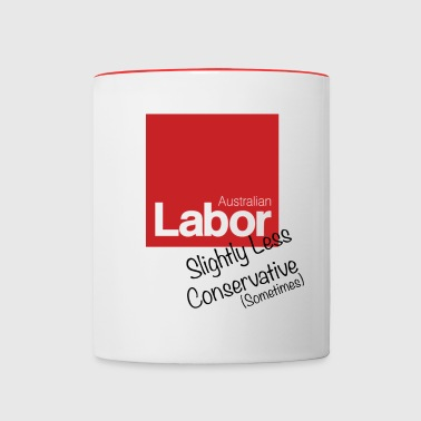 Conservative as - Contrast Coffee Mug