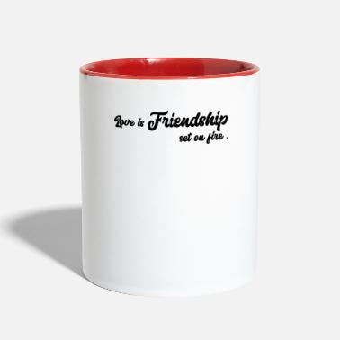 Friendship friendship - Two-Tone Mug