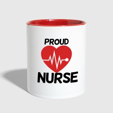 Proud Nurse - Contrast Coffee Mug