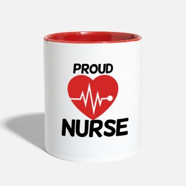 Proud Proud Nurse - Contrast Coffee Mug