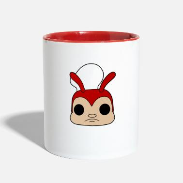 SAD BEE - Two-Tone Mug