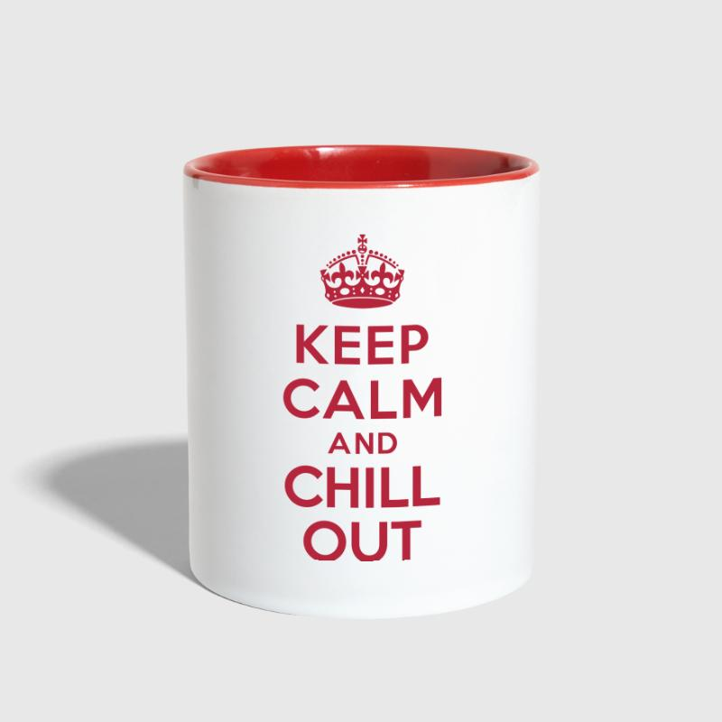 Keep calm and Chill out - Contrast Coffee Mug