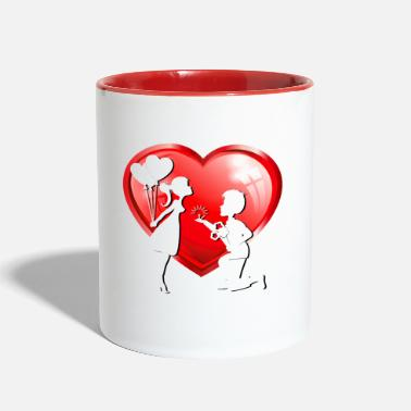 Marriage Offer of marriage - Two-Tone Mug