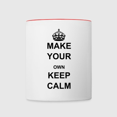 Keep Calm and Carry On Crown - Contrast Coffee Mug