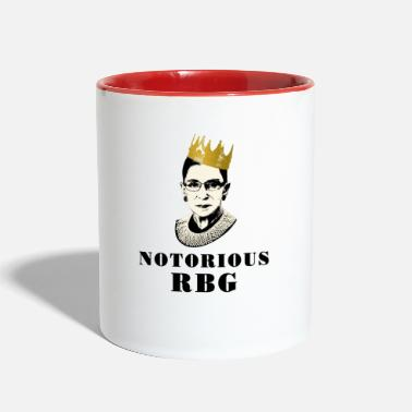 Notorious RBG   - Contrast Coffee Mug
