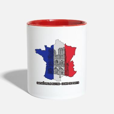 Cathedral of Notre Dame Paris - Two-Tone Mug