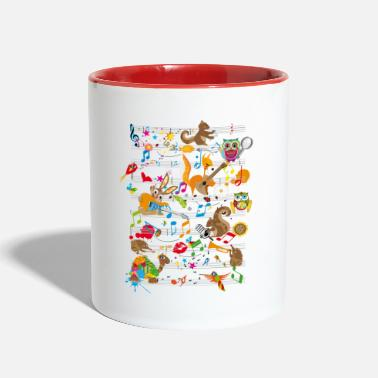 Concert Concert of Animals - Contrast Coffee Mug