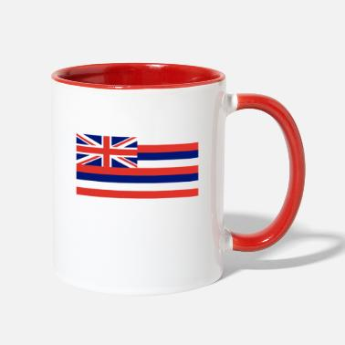 Hawaii Hawaii State Flag - Two-Tone Mug
