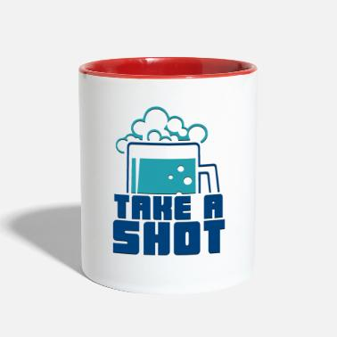 Take Take A Shot - Contrast Coffee Mug