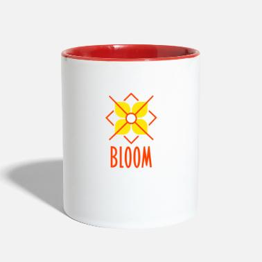 Bloom Bloom - Two-Tone Mug