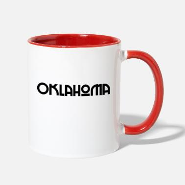 United States Oklahoma - US State - United States of America - Two-Tone Mug