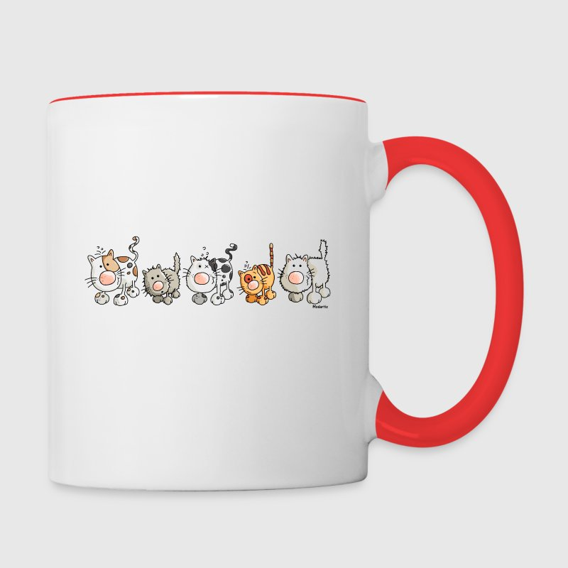 Funny Cats - Cat - Contrast Coffee Mug