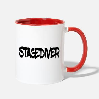 Stagediving Stagediver - Two-Tone Mug
