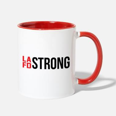 Lafd Strong Lafd Strong - Two-Tone Mug