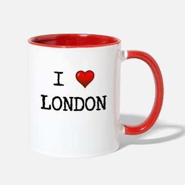London I love London - Great Britain - GB - England - Two-Tone Mug